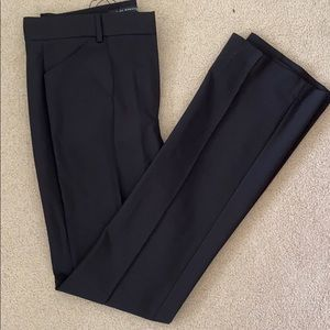Zara never worn black slight wide leg trouser